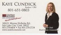 Kaye  Cundick